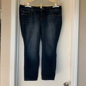 20xs premium classic skinny jean extra short